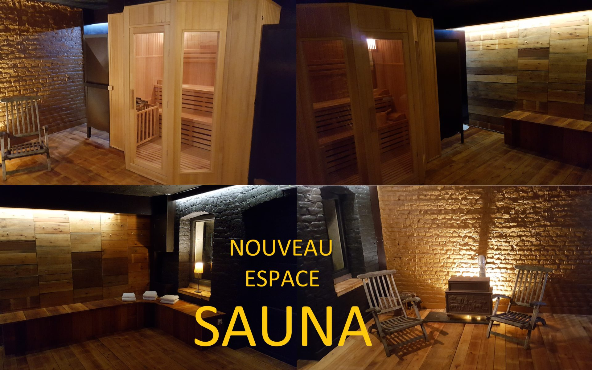 New Sauna Area